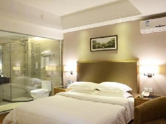 Anyi Xianting Hotel: 大床