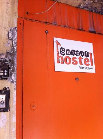 Safari Hostel : 门口
