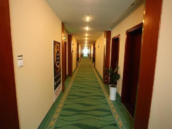 GreenTree Inn Binhai Zhongshi Middle Road Business Hotel: 走廊