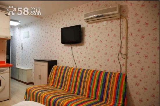 Dushi Xinyuan Family Apartment: 房间干净整洁,安全舒适,交通便利。