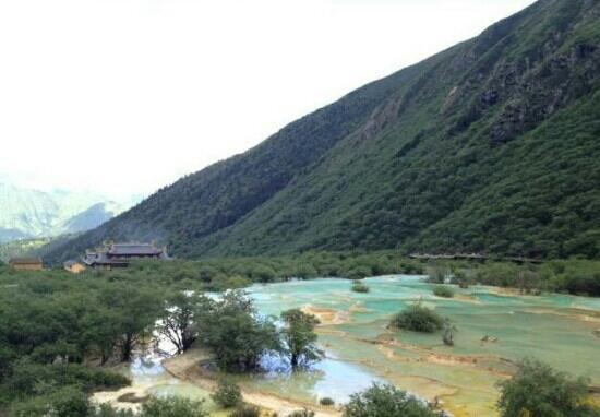 Huanglong Scenic Valley: 美