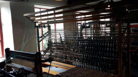 Leeds Industrial Museum at Armley Mills: 纺织机器