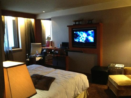 Sofitel Harbin: Room inside
