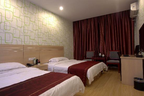 Qingfeng Huayuan Hotel: 豪华双床房