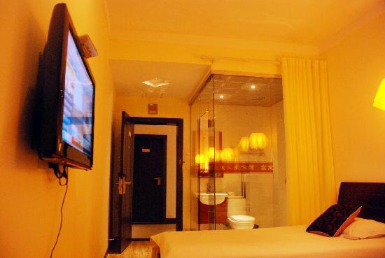Hongbaoge Hotel: 普通单间