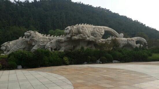 Laohutan Scenic Park: 还有只虎在后面