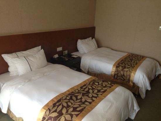 ZTE Hotel Shanghai: 寝具