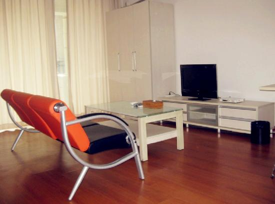 Private-Enjoyed Home Guangzhou Shangde Apartment: 客厅