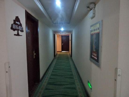 GreenTree Inn Xuzhou South Minzhu Road Business Hotel: 走廊