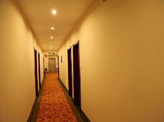 GreenTree Inn Wuxi Lingshan Scenic Area Express Hotel: 走廊