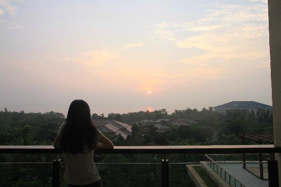 Haitang Bay Gloria Resort Sanya: 日出