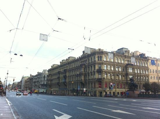 Avenida Nevski: 街景