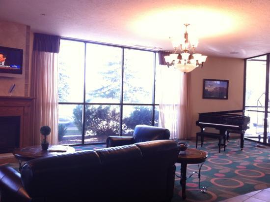 Hotel on the Falls: 大堂