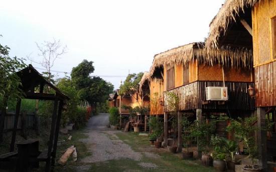 Ayutthaya River Hut: 大城河边小屋