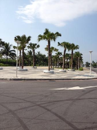 Nanbin Park : 南滨公园一角