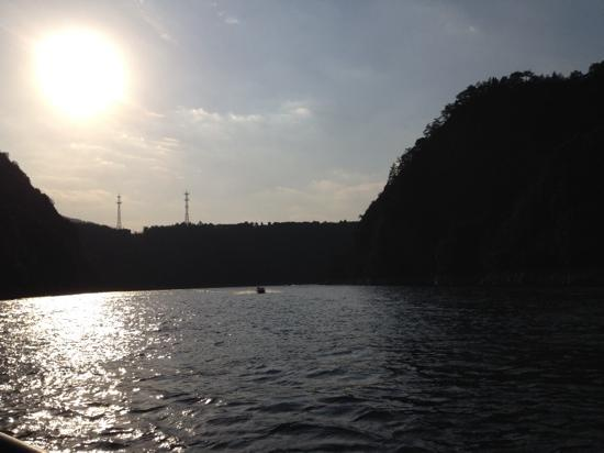 Wuxie National Forest Park : 五泄游船