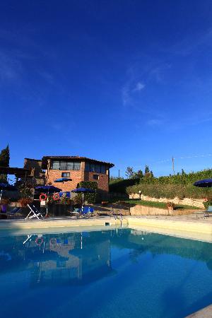 Villa Palagetto: Swimming pool