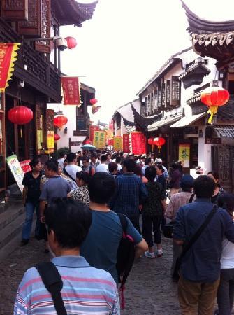 Nanxiang Old Street: 国庆
