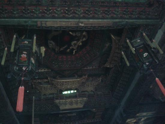 Daxiong Hall of Dayu Temple: 山西应县净土寺43