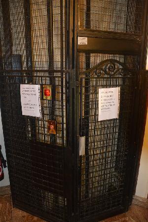 Hotel du Mont Blanc: 电梯