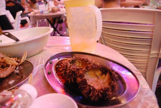 Spring Garden Seafood Plaza: 海胆蒸蛋