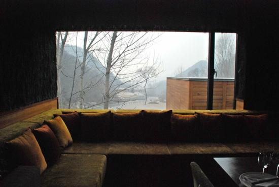 Commune by the Great Wall : 画框般的取景