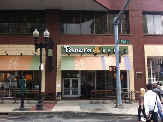 Panera Bread Boston 115 Stuart St Downtown