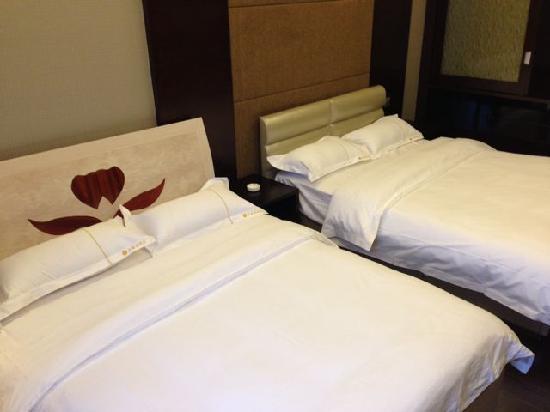 Erjiana Kehui Jingu Apartment Hotel: 豪华双床房