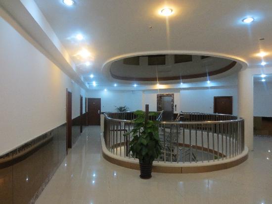 Yinhu Hotel: 酒店楼道