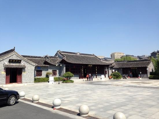 Taizhou, China: 游客不多