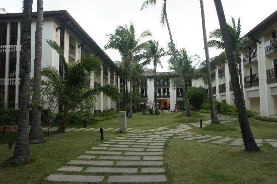 ibis Samui Bophut: 酒店花园安静素雅