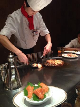 坪亭鐵板燒日本料理(望京店)