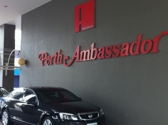 Quality Hotel Ambassador Perth: a