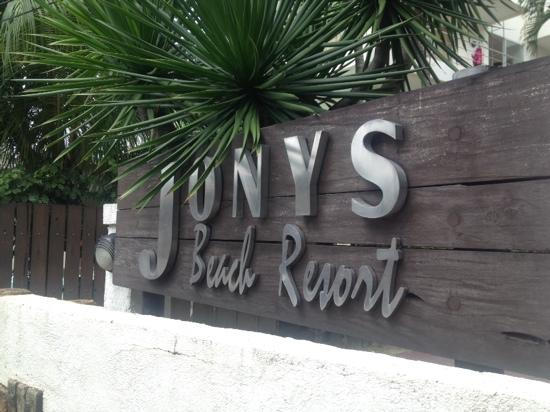 Jony's Beach Resort: 太烂了!