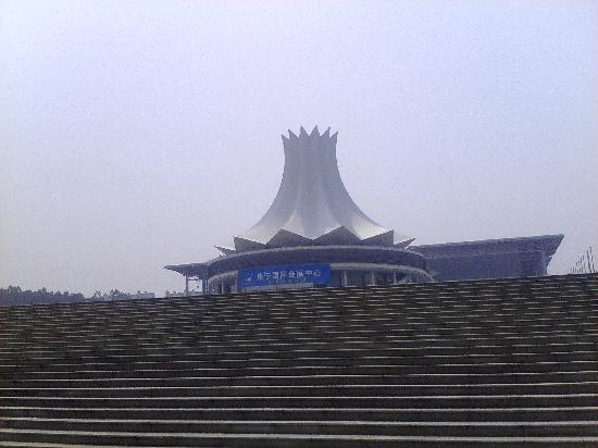 Guangxi International Convention and Exhibition Center: 国庆拍的
