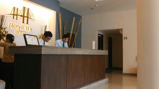 Hong Ha Hotel : 服务台