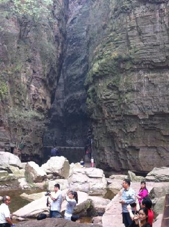 Longtan Canyon: 峡谷
