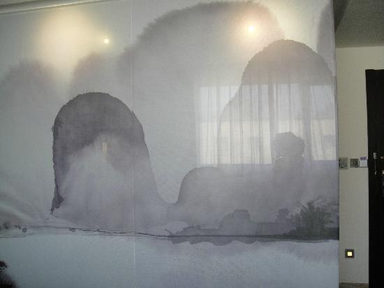 Club Med Guilin: 浴室玻璃