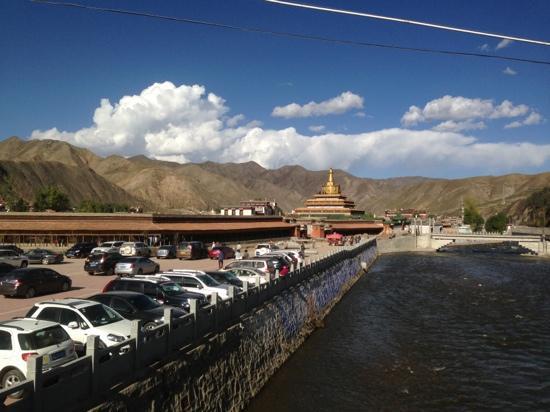 Labrang Monastery (Labuleng Si) : 从夏河看拉卜楞
