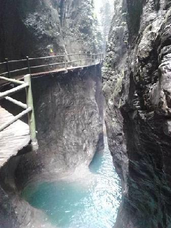 Jindao Canyon Scenic area: 金刀峡