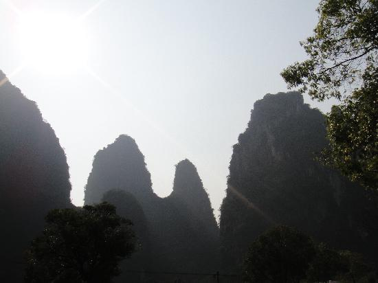 Zhongshan County, Chine : 风景美