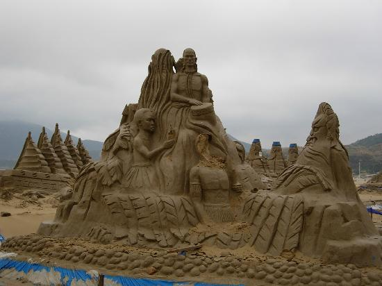 International Sand Sculpture Art Plaza