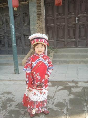 Dali Gucheng - the Old City: 路上遇到的妞