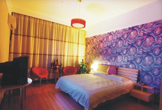 7 Days Premium Luoyang Wanda Plaza: 大床房