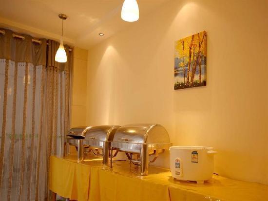 GreenTree Inn Nanjing Jiangning Wanda Square Business Hotel: 餐厅