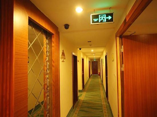 GreenTree Inn Nanjing Jiangning Wanda Square Business Hotel: 走廊