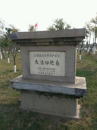 Dagu Fort (Dagukou): 炮台