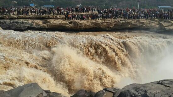 Hukou Waterfall: 壶口壮观