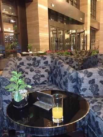 Holiday Inn Beijing Deshengmen: 大堂吧