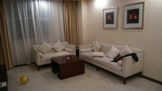 Jinbin International Hotel: 高级套房之客厅。